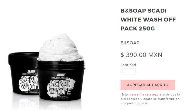 Soap white